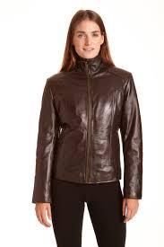 lamb leather scuba jacket