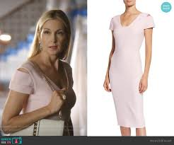 WornOnTV: Melissa's pink cutout dress on Dynasty | Kelly Rutherford |  Clothes and Wardrobe from TV