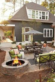 Patio Design Ideas With Fire Pits outdoor patio like the fire pit off to the side