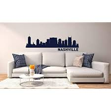 nashville skyline vinyl wall decal