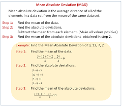Measures of Variability (solutions, examples, worksheets, games ...