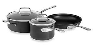 all clad ltd. All-Clad B3 Hard Anodized Bonded Induction Aluminum 5-Piece Cookware Set All Clad Ltd