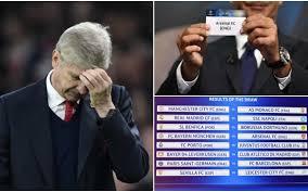 Champions League Draw Reaction Unlucky Arsenal Face Bayern Munich