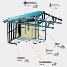 metal framing diagram.  Diagram Steel House Framing Screws Throughout Metal Diagram