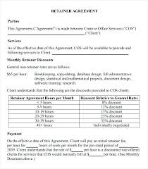 Consulting Contract Templates Sample Template Finders Fee Agreement ...