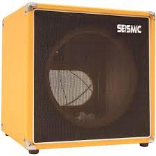 1x12 Guitar Cabinet Empty Seismic Audio 1x12 Guitar Speaker Cab Empty Cube Cabinet Orange