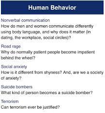 human behavior essay topics essay topic ideas human behavior essay topics essay topic ideas essay topics