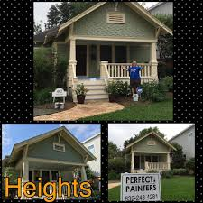 providing service in the houston tx community a happy customer of perfect painters