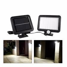 Solartuinlamp Bewegingsmelder 56 Led Zonne Energie Light Outdoor Tuin Beveiliging Lamp Wandmontage Ip55 Lampe