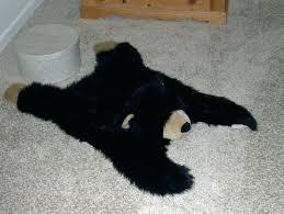 nursery bear rug faux bear rug nursery skin with head nursery bear rug