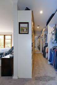 narrow gloss walk in wardrobe narrow walk in wardrobe behind bed