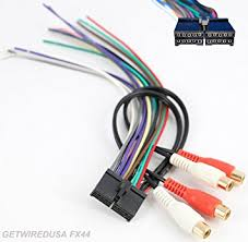 amazon com 20 pin radio power plug stereo wire harness male back 20 pin radio power plug stereo wire harness male back clip for jensen mp5720 vm9510
