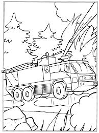 Geniaal Kleurplaten Beroepen Brandweer Kleurplaat Brandweerauto
