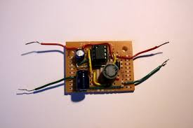 the finished dc dc converter
