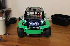 Lego Technic Power Functions Lights Lego 42039 Model B Online Instructions With Experimental