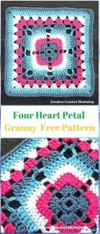 Easy Crochet Granny Squares Free Patterns Cool Easy Classic Granny Square Crochet Pinterest Granny Squares