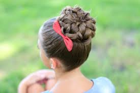Sock Bun Hair Style updo hairstyles sock buns cute girls hairstyles 4612 by wearticles.com