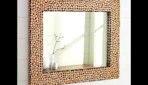 decorative frames wall bathroom decorating mirror mosaic tile small diy square ideas glamorous creative rustic frame