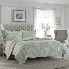 laura ashley brompton serene reversible quilt set full fl queen size bedspreads home kitchen king bench