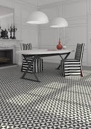 Black And White Patterned Floor Tiles Extraordinary Fabulous Black And White Bathroom Tile Of 48 Idaho Interior Design