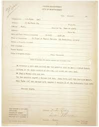 Police Reports Examples Examples Of Bad Police Reports Senetwork Co