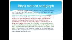 Compare Contrast Paragraphs Part 2