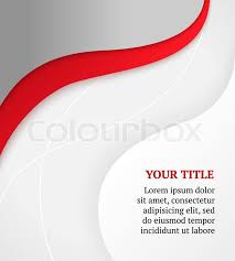 Brochure Background Design Red And Gray Business Background Stock Vector Colourbox