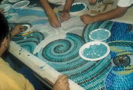mosaic tile work55 work