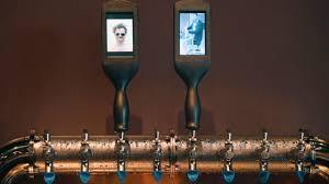 tv tap lcd beer tap handle