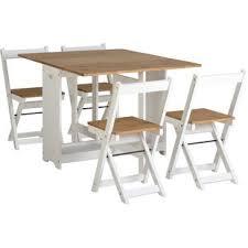 features romantic space saving folding. Southchase Folding Dining Set With 4 Chairs Features Romantic Space Saving