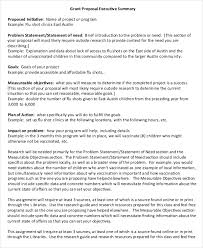 Executive Summary Sample For Proposal 20 Executive Summary Templates Free Premium Templates