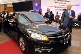 proton new car releaseNewlook Proton Perdana launched as official goverment car