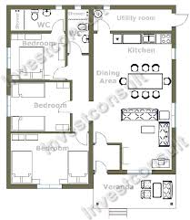 ... Three Bedroom House Plans Builder In Bourgas Bulgaria ...