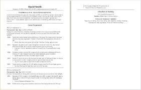 Pharmaceutical Sales Resume Example Resume Directory