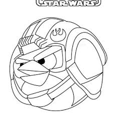 Angry Birds Star Wars Printable Coloring Sheets Angry Birds Star