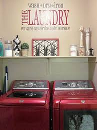 Laundry Room Accessories Decor Decorating some diy art for the laundry room the happy housie 22