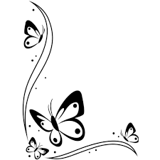 Simple Border Designs For Project Swirls And Hearts Free Corner Swirl Cliparts Download Free Clip Art Free