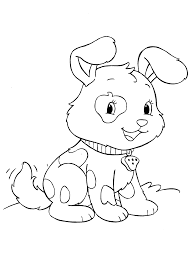 Dog Puppies Love Coloring Pages Ok