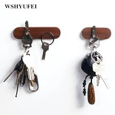 key holder for wall solid wood key holder wall hanging wood wall hanging car  keys suction