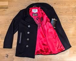schott nyc creates limited edition u s navy pea coat