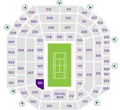 Seating Maps Open Tennis