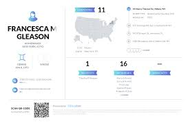 Francesca M Gleason, (518) 729-5053, 31 Nancy Theresa Ter, Albany ...