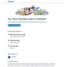 Disneyland Theme Park Reservations ...