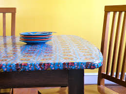 Round Plastic Table Covers With Elastic Modernjune New Elasticized Tablecloths