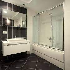 removing soap residue from shower doors