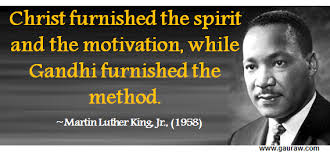 Martin Luther King Christian Quotes Best of Christ Furnished The Spirit And Motivation While Gandhi Furnished