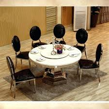 10 seater dining table and chairs 8 big round dining table with turntable marble top dining
