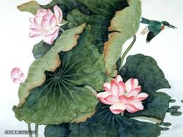 vintage lotus flower - Google Search