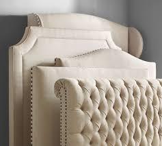Ardley Upholstered Headboard Pottery Barn, Headboard designs