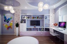 Purple Bedrooms For Girls Modern Concept Girls Bedroom Ideas Blue And Purple Decorating